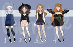Adoptables batch open (4\4) by cherry----pie