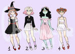 Adoptables batch set price closed by cherry----pie