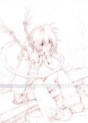 Miles and Fontina - sketch by shirotsuki