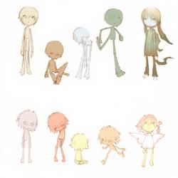 Birdseed - Character Studies by shirotsuki