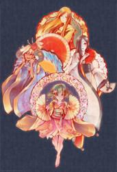 Dancing Seasons by shirotsuki