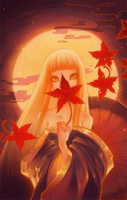 Bonfire by shirotsuki