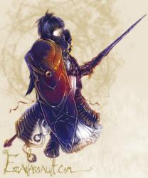 Lady of Nightfall by shirotsuki