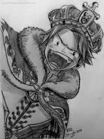 Fairy Tail - King Natsu by kerushiidesu
