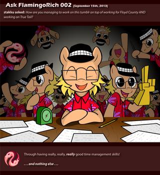 Ask FlamingoRich 002 by FlamingoRich