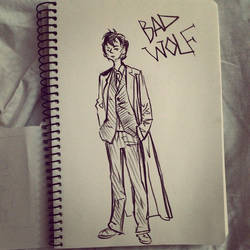 The Doctor WHO ( BAD WOLF) by Veolleta