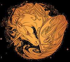 Unicorn [for print] by RuaCharl