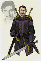 SHIELD's Swordsman, Agent Jacques Duquesne by Needham-Comics