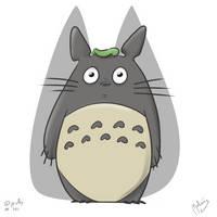 DailySketch 141 Totoro by zeravlam