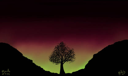 Aurora Borealis by zeravlam