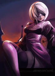 2B - Amusement Park by Ayvie-G