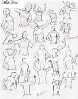 Male Torso Practice by DelightsJD