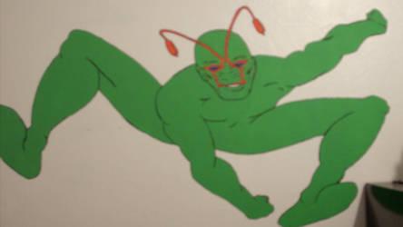 Ambush Bug - Wall by jokermask