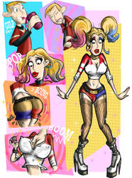 Harley Quinn Ron by Nice-ass91