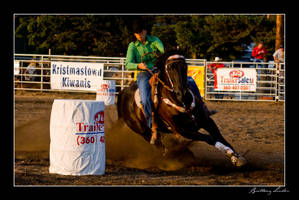 Barrel Racing by VonLow