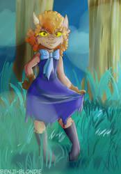 REQUEST - Winnie Werewolf by Benji-Blondie