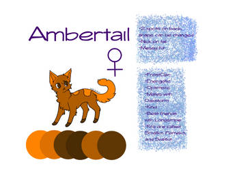 Ambertail Reference 2019 by slytherinmacaron