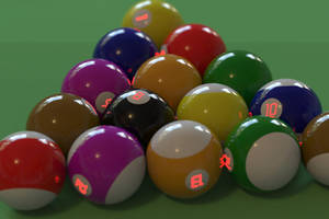 High-tech billiards by imroy
