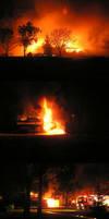 Kelso High School burns... by imroy