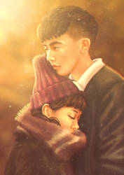 Asian Couple by Anna-Rise