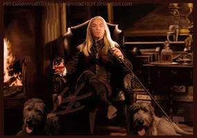 At Malfoy Manor by goldenrod1034