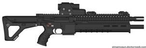 New Mass Effect Assault Rifle by zxcv1911