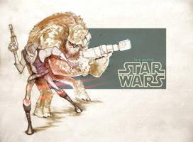 Star Wars 2 by gadeaster
