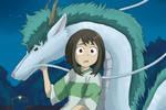 anime crossover (MHA x spirited away) by hikary-starrysky