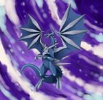 Dragonized pokemon: Dialga (Speedpaint) by hikary-starrysky