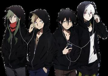 MekakuCity Actors by ftrmgrunge