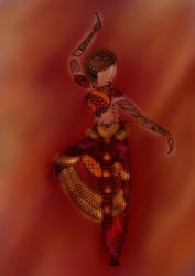 Dancer -digitized by dawn-mist