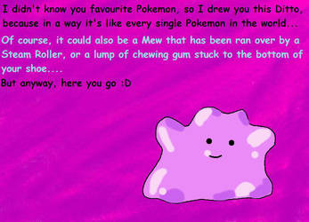 Pokemon Ditto Picture Inspired By Poke Memes By Pokemongeekgirl