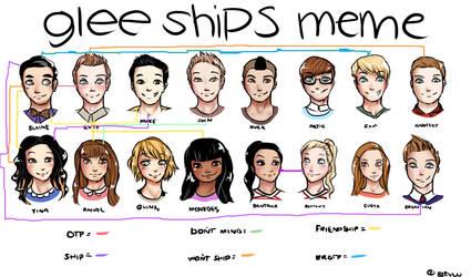 Glee Ships meme by LoveDustAngel