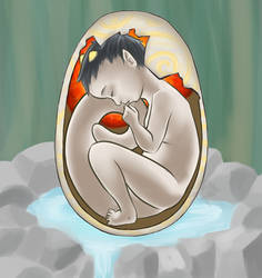 Zen Egg Cross section by Rubeyz2