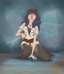 Pirate Girl by Rubeyz2