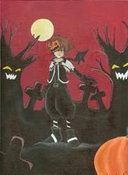 Halloween Sora by Darrkangel