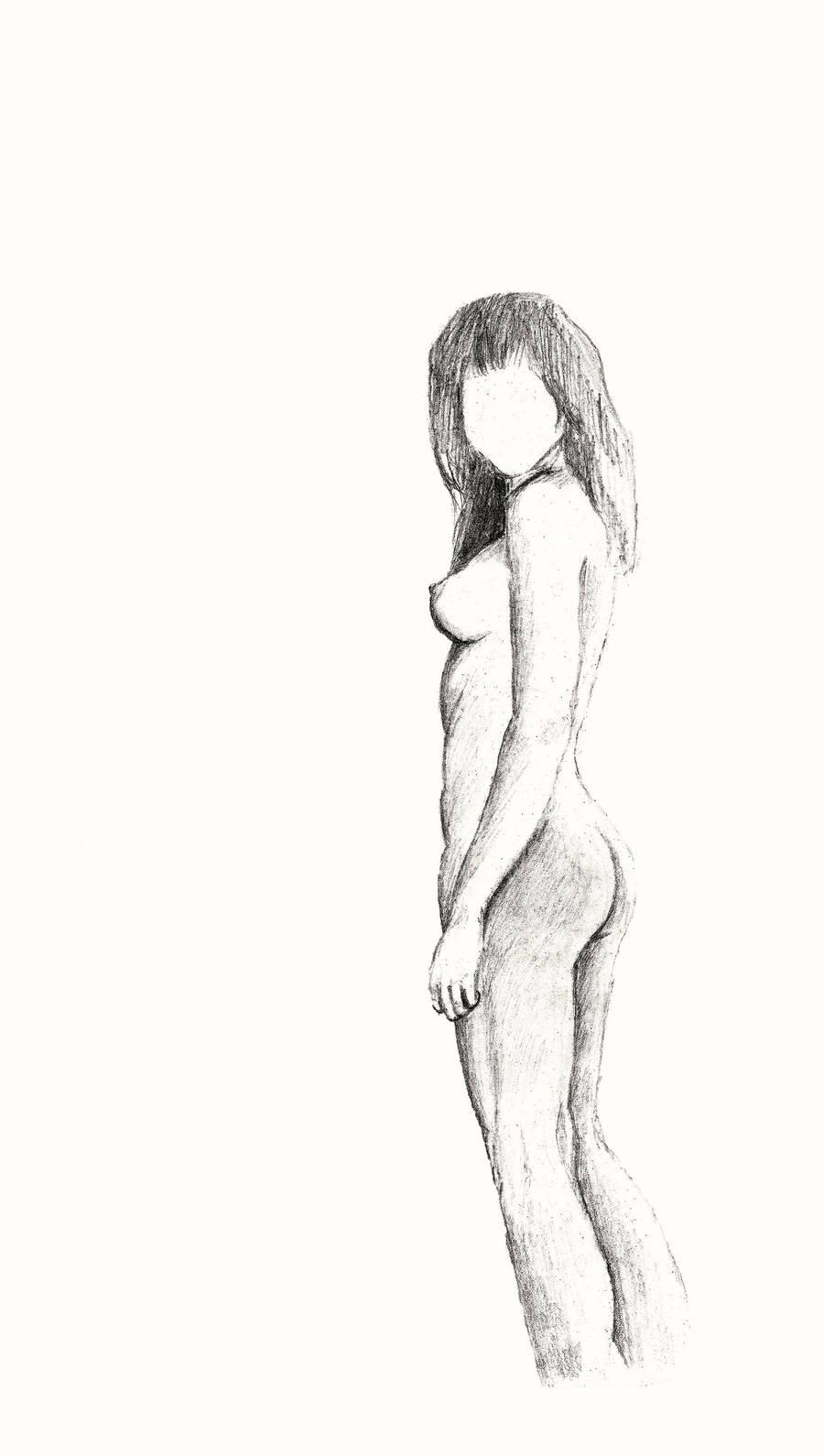 Standing faceless by Drahoslav7