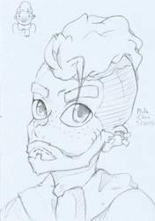 random guy by Kamikka-chan