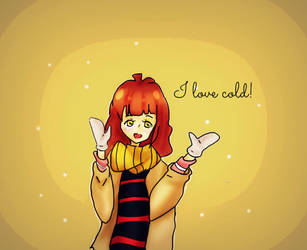 I love cold by Kamikka-chan