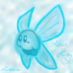 Navi Kirby by kirbena