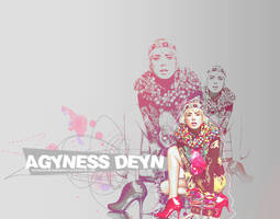 Agyness Deyn by awesomestyle