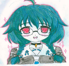 (Pixel Daze) Yukari Otome by ShadowAngel121