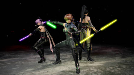 Ninja Gaiden Trio - Lightsaber Edition by Nodern03