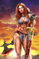 RED SONJA by killbiro