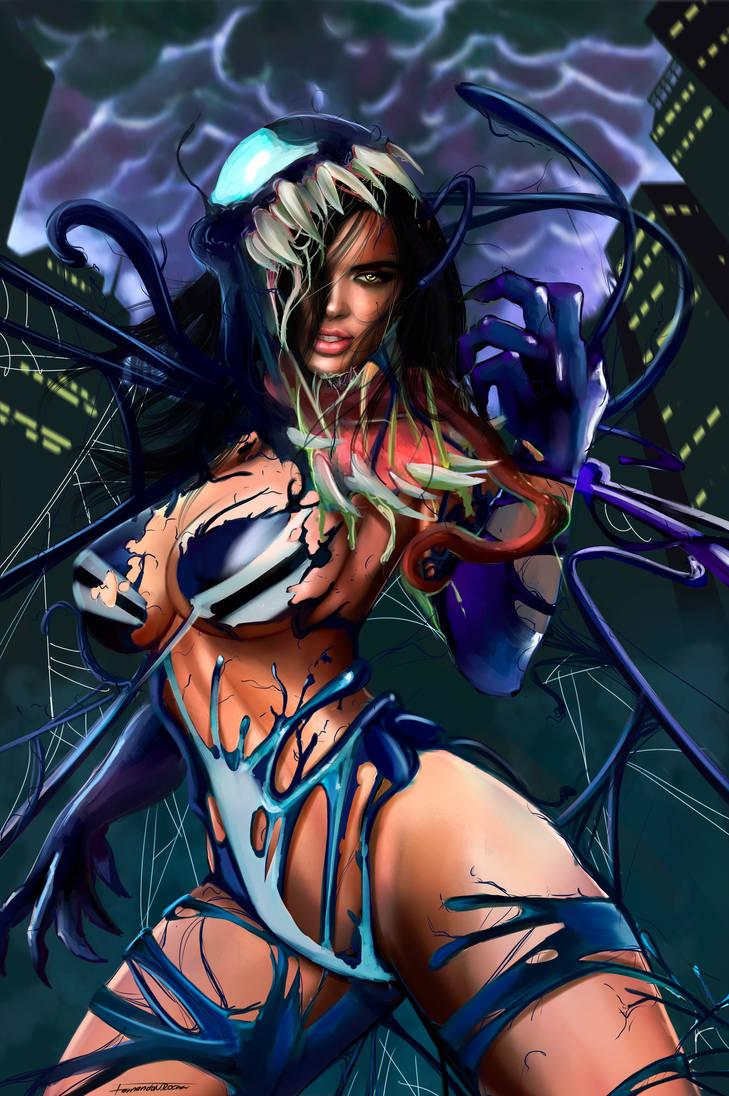 SHE VENOM by killbiro