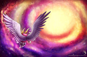 Galactic Trio - The Winged Knight by Celestia-Knight
