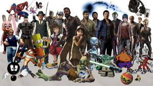 My Favorite Games in One Picture UPDATED by GrantBattersby