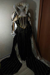 Esther Blanchett dress (Trinity Blood) Tudor by AgnessBlanvradica