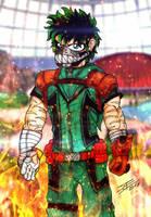 Alternative Izuku Midoriya from Earth 2 by BlueWolfArtista