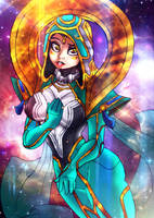 Odyssey Sona by BlueWolfArtista